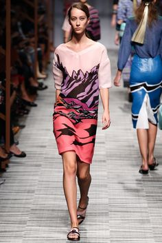 Missoni Spring 2014 Ready-to-Wear Fashion Show - Alana Zimmer