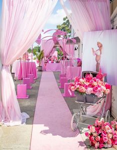 Pretty Pink Baby Shower Baby Brunch – MunaMommy Victoria Secrets, Baby Shower Decorations, Birthday Decorations, Different Shades Of Pink, Pink Parties, Event Decor, Event Planning, Pretty In Pink, Balloons
