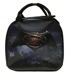 e30ca086cc07 DC Comics Batman VS Superman Insulated Lunch Bag w  Water Bottle (LOGO)   Size Approx  Height x Wide x Deep Brand New   Licensed Product Lunchbox  features ...