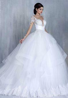 Featured Wedding Dress: Tony Chaaya Couture; www.tonychaaya.com; Wedding dress idea.