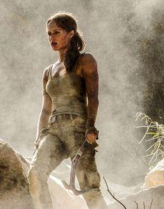 Alicia Vikander as Lara Croft in Tomb Raider! Tomb Raider Alicia Vikander, Alicia Vikander Lara Croft, Tomb Raider Full Movie, Tomb Raider 2018, Laura Croft, Streaming Movies, Hd Movies, Movies Online, Hd Streaming