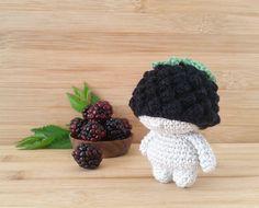 Crochet berry mini doll tutorial Amigurumi diy pdf pattern | Etsy