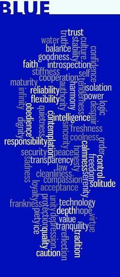 Chakra 5 - Throat - I Speak: Kind Of Blue, Love Blue, Blue And White, Color Blue, Pantone, Color Symbolism, Azul Real, Bleu Indigo, Color Meanings