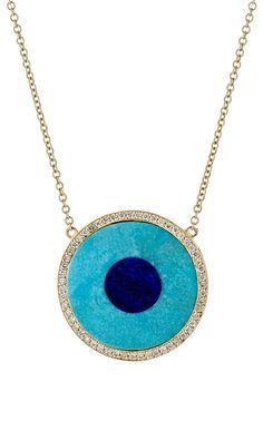 Evil Eye Pendant Necklace by Jennifer Meyer