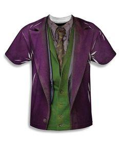 Loving this Purple & White Joker Suit Tee - Men on #zulily! #zulilyfinds