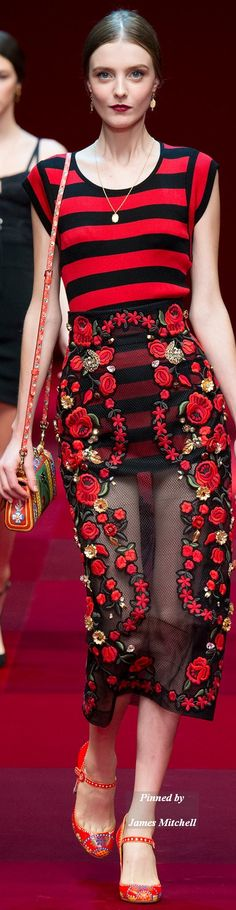 Dolce & Gabbana -  Spring 2015 RTW