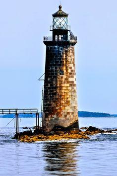 Maine Lighthouses and Beyond: Ram Island Ledge Lighthouse