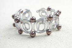 DIY Wire Bangle Bracelets With Beads | Styleoholic
