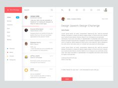Concept for Mail desktop app. I just make it free time . Feedback is always appreciate. Don't forget to check @2X View, Press F and show some love :) View Attachment Available for Hire: J...