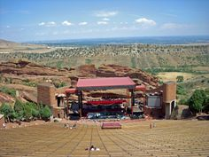 Red Rocks Theater, Morrison, CO