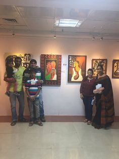 A creative evening amidst talented artists and their spellbinding work left me feeling extremely elated.  Rainbow Art Gallery at Paryatak Bhavan, Begumpet is known for its exhibitions ...