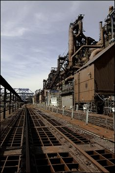 Steel Mill by hoodwatch, via Flickr