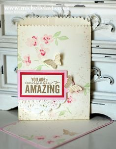 Painted Petals from Stampin' Up! - Stampin' Up! Demonstrator Michelle Last