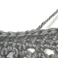 Crochet How To: Invisible Join