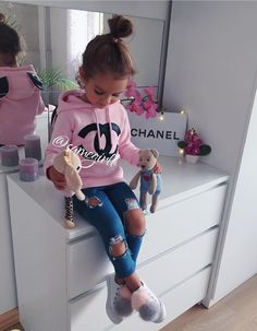 Channel sweater