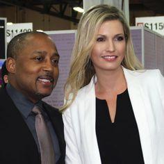 Daymon John and Anna-Mieke Anderson at JCK Las Vegas| MiaDonna Reports from JCK Las Vegas 2014