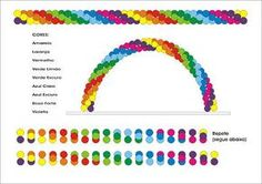 """""""arco iris de bexiga""""的图片搜索结果 Balloon Gate, Rainbow Balloon Arch, Balloon Columns, Balloon Template, Mickey Mouse Balloons, Balloon Words, Balloon Stands, Bubble Party, Balloon Crafts"""