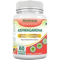 Morpheme Ashwagandha (Withania Somnifera) – Natural Herbal Supplements   AyurvedicCure.com
