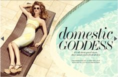 Domestic Goddess  netaporter.com mag #137