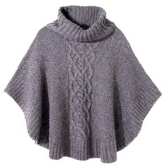 Harris Sisters GirlTalk: Top 10 Wardrobe Basics for the Fall - New In Tops Poncho Knitting Patterns, Crochet Poncho, Knitted Shawls, Knit Patterns, Knit Cowl, Cable Knit, Knitted Cape, Ladies Poncho, Wardrobe Basics