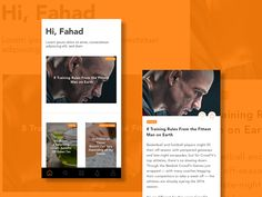 Healthcare Magazine App by Fahad Designs