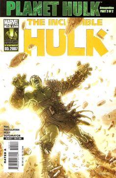 The Incredible Hulk Vol. 2 #105 (Planet Hulk FInale)