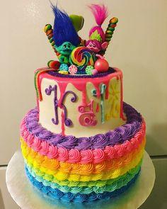 Trolls birthday party!