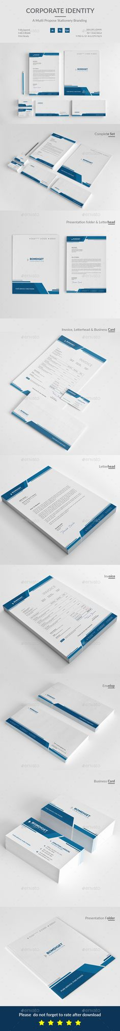 328 best Stationery and Identity Templates images on Pinterest - stationery for businesses