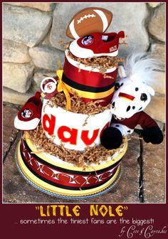 *Seminole diaper cake