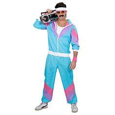 Idée #CadeauDeMerde # : Survêtement beauf années 80 costume sport M 46/48 années 90 costume de sport New Kids déguisement de sport jogging