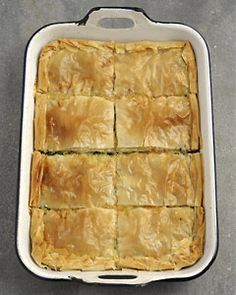 Recipes from The Nest - Spinach and Cheese Pie