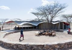Shade of Meaning: Clinic in Turkana, Kenya, by Selgas Cano, Ignacio Peydro and MIT students | Buildings | Architectural Review