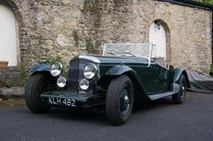 1949 Bentley Mark litre Mallalieu 'Oxford' Sports Two-seater Retro Cars, Vintage Cars, Antique Cars, Classic Motors, Classic Cars, Bentley Mulsanne, Bentley Car, Car Makes, Submarines