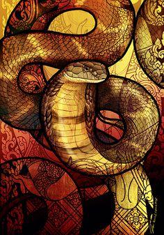 King Cobra by Culpeo-Fox.deviantart.com on @DeviantArt