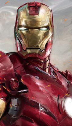 Iron Man art by David Seguin #ironman #marvel #cosplayclass
