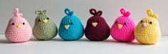 Sweet Little Birds (Free - English). FREE PATTERN 7/14.