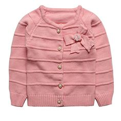 eTree Girls Jackets Lace Collar Tulle Double Breasted Outerwear Pink Size 6
