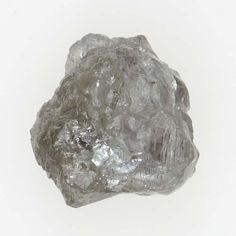 Natural Rough Silver Color Opaque Diamond 0.55 CT Loose For Jewellery