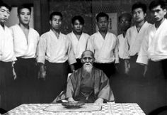 Morihei Ueshiba 1964