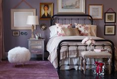 Beauty Rest : A Playful & Pretty Bedroom