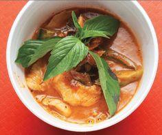 Thaise Penang curry met kip