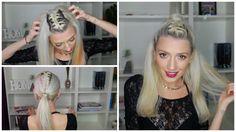 3 easy hairstyle, hairstyle, peinados