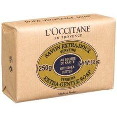 L'Occitane Savon Extra-Doux Verveine, (Verbena Soap, Extra Gentle), 8.8-Ounce Bar, (bath, bath soap, best soap, loccitane, shower, verbena, lemon soap, shower soap, soap, long lasting)
