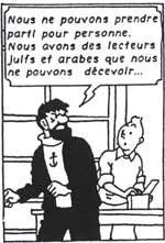 Tintin dans le Golfe