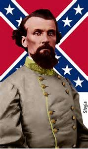 General Nathan Bedford Forrest, a self taught war hero.  While he's remembered now as the first leader of the KKK, he later recanted his time in the klan and became a civil rights activist, something that few people in the South or North dared to be.