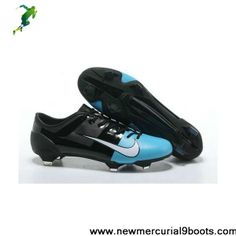 Authentic Neymar Nike Launch Green Speed GS Black Blue White For Wholesale Adidas Soccer Boots, Nike Boots, White Football Boots, Football Shoes, Cheap Soccer Cleats, Black And White Boots, Cleats Shoes, Boots For Sale, White Nikes