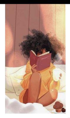 Art Black Love, Black Girl Art, Art Girl, Black Girl White Hair, Girl Artist, Black Art Painting, Black Artwork, Art Afro Au Naturel, Art Amour