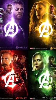 İnfinity war posters