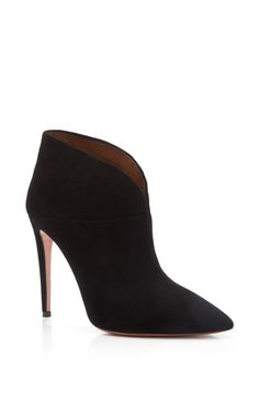 Inga Suede Ankle Boots by Aquazzura - Pre-Fall 2014 (=)