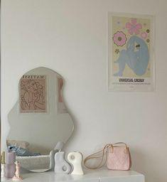 Room Design Bedroom, Room Ideas Bedroom, Bedroom Decor, Bedroom Inspo, Pastel Room Decor, Cute Room Decor, Cute Room Ideas, Indie Room, Minimalist Room